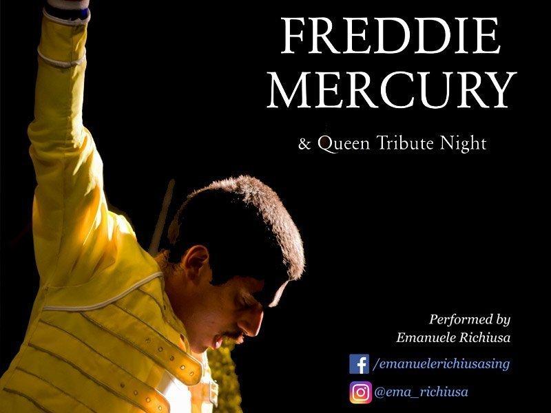 Emanuele Richiusa - Freddy Mercury Impersoner
